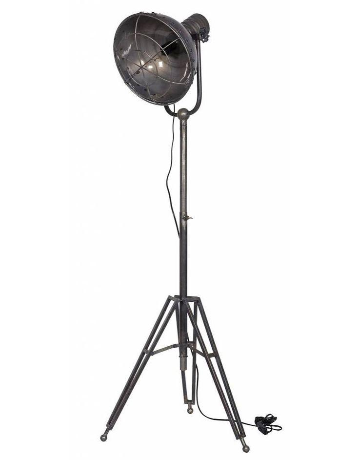 BePure staande lamp, Spotlight - Stoer Metaal