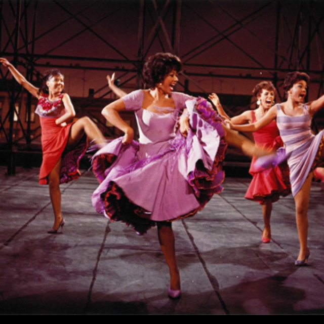 """Rita Moreno, """"America"""" West Side Story- she went to school with my Father in Humacao, Puerto Rico"""