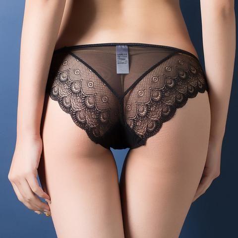 [EBay] Women Sexy Lace Panties , Women'S Low Waist Cotton Underwear , Lady Bow Seamless Briefs