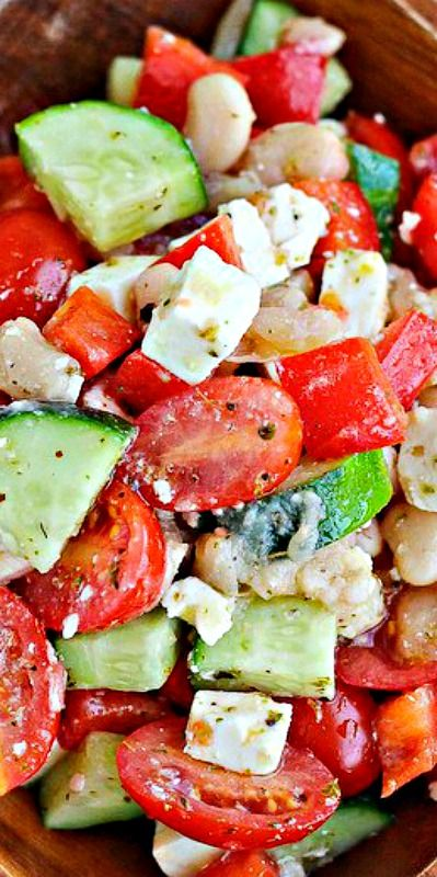 Greek Chopped Salad (1) From: Rachel Cooks, please visit
