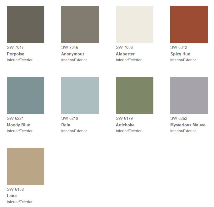128 best images about paint color on pinterest grey for Sherwin williams paint sample