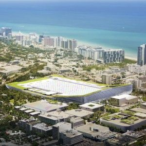 Miami Beach Convention Center  by BIG
