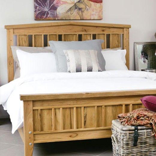 Orchard Oak Wood Bed.