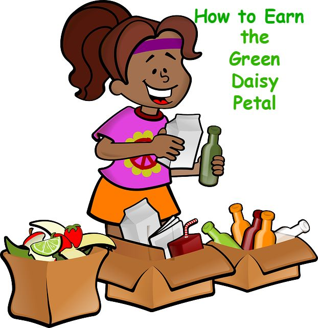 Here is a lesson plan on how to earn the green Daisy petal, Use Resources Wisely.                                                                                                                                                                                 More