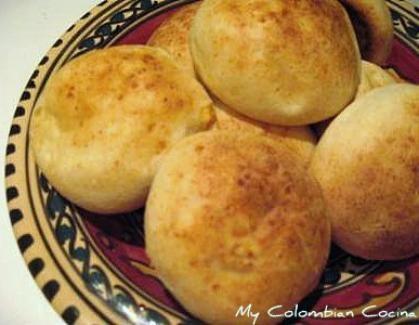 Almojabanas or Corn and Cheese Bread