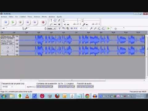 Audacity Cómo reducir el ruido ambiente* de una grabación - YouTube (*): sirve para ruidos metálicos también. He conseguido quitarle del microfono de solapa USB gracias a este mini tuto video.