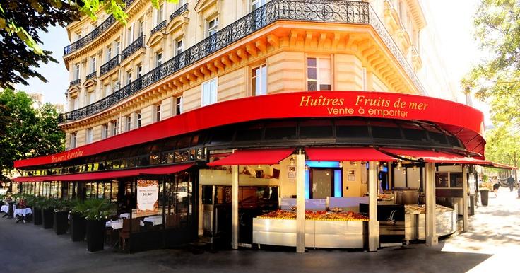 La Lorraine Paris - supposedly one of the best restaurants in Paris