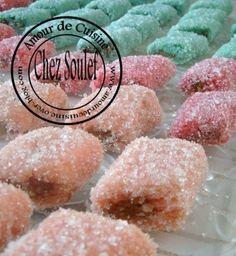 Skikrates gâteaux algerien a la noix de coco sans cuisson - 1 amour de cuisine algerienne chez soulef