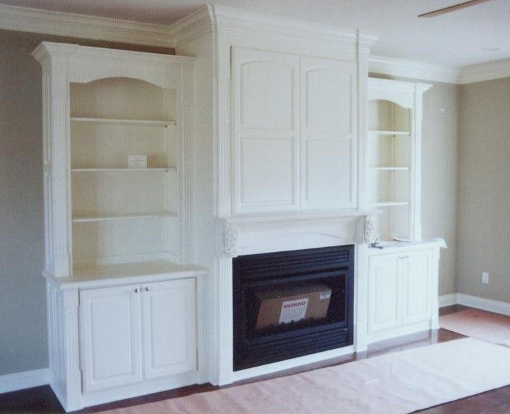 Entertainment Center With Fireplace Home Style Pinterest Fireplaces Built Ins And Bookcases