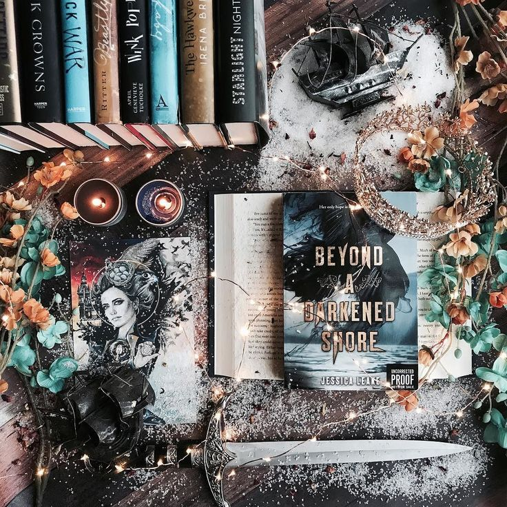 Today for #waitingonwednesday Im featuring Beyond a Darkened Shore by @jessleake!!!! When I saw the cover reveal for this and read the synopsis it quickly became one of my most anticipated releases for this spring!!! . I am happy to announce that not only is the outside of the book stunning but the inside is as well!!!! I loved everything about this book and highly recommend you add it to your TBR piles if you like adventure romance and magic!!!! . It will be releasing in April from…