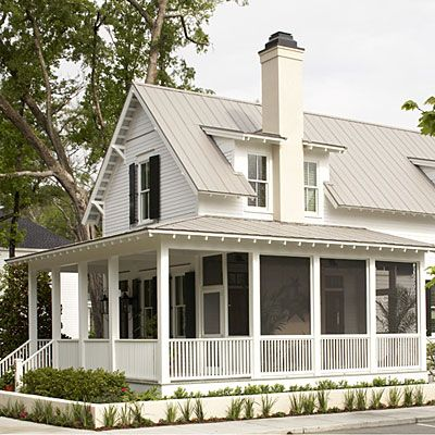 Wraparound Porch Partially Screened In Home Exteriors