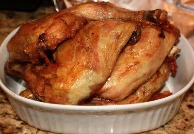 What's Cookin' Italian Style Cuisine: Italian Roasted Chicken Legs Recipe Idea's