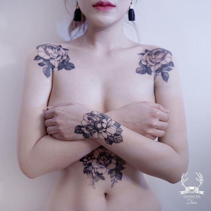"17k Likes, 113 Comments - Reindeer Ink Zihwa (@zihwa_tattooer) on Instagram: ""I designed tattoos according to my mind. How is it? """