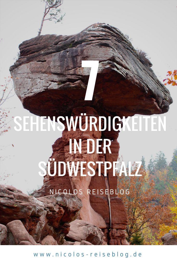 Sieben tolle Highlights, die Du Dir bei einem Kurzurlaub in der Südwestpfalz anschauen sollstest. Reisetipps und Fotos auf meinem Reiseblog. germany travel rheinland pfalz