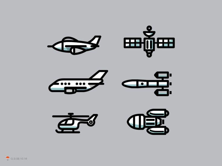Icons. Airbus US