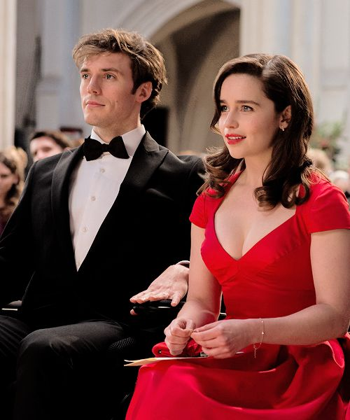 Sam Claflin and Emilia Clarke as Will Traynor and Louisa Clark in 'Me Before You' (release: June 2016)