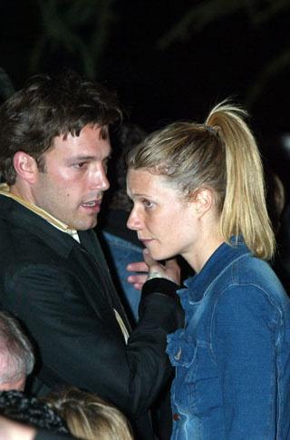 Gwyneth & Ben Afflick dated from 1997 - 2000