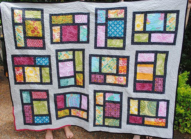 Kitchen Windows quilt #1 | Flickr - Photo Sharing!