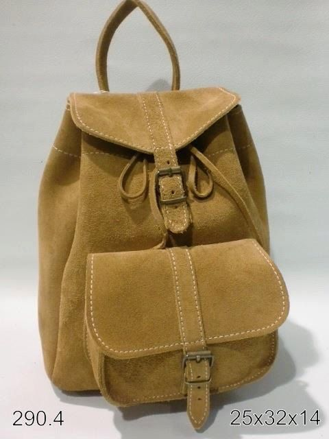 Hancrafted Leather backpack
