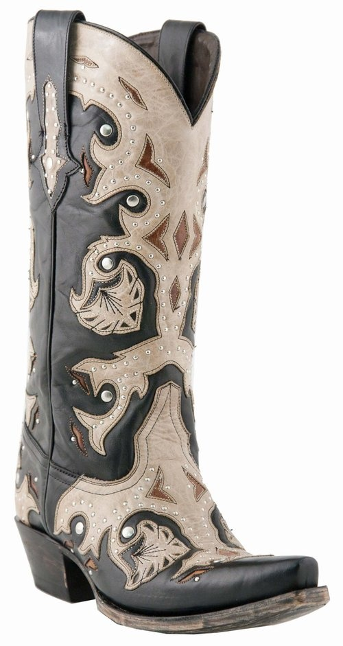 f4fe010f10 Lucchese Handcrafted 1883 Studded Scarlette Cowgirl Boots - Snip Toe from  Sheplers.