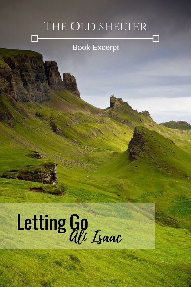 LETTING GO (Ali Isaac) - Irish lore, ghosts, coming to terms with the past
