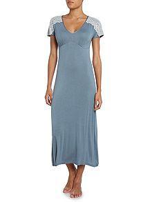Plain jersey nightdress