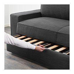 IKEA - VILASUND, 3er-Bettsofa, Orrsta hellgrau, , Taschenfedern entlasten den Körper und tragen zur ausgeglichenen Lage der Wirbelsäule bei.Eine feste Matratze, die gut stützt und für allnächtliche Benutzung geeignet ist.Aufbewahrungsmöglichkeit unter der Sitzfläche für Bettzeug o. Ä.Leicht sauber zu halten - der abnehmbare Bezug kann in der Maschine gewaschen werden.Robuster Baumwoll-/Polyesterbezug mit Struktur und weichem Griff.Lässt sich schnell und einfach in ein geräumiges Bett ver...