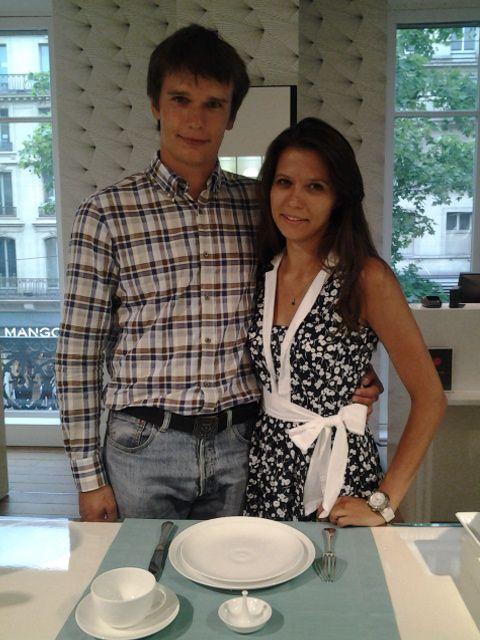 dmitry et natalia ont dpos leur liste de mariage aux galeries lafayette haussmann ils ont - Galeries Lafayette Liste De Mariage
