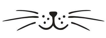 bigotes de gato plantilla