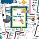 Do you struggle to find time to change out the props in your dramatic play center? These printable props will help you easily create a space theme ...