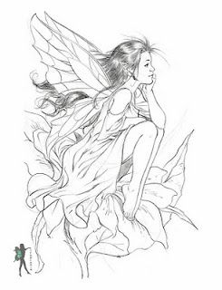 free fairy coloring pages by various artists