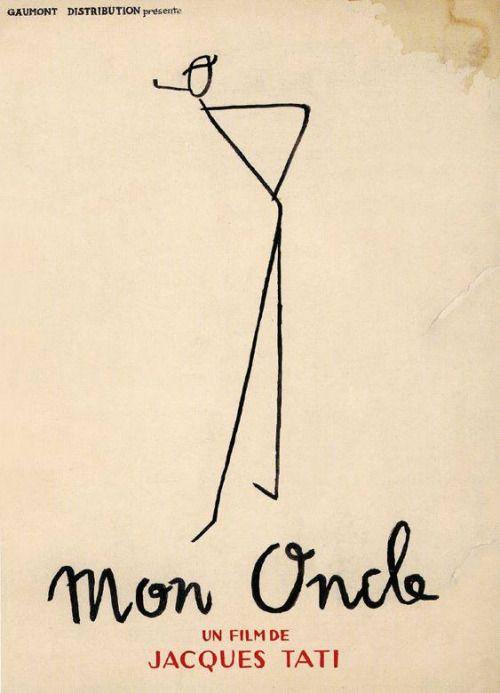Pierre Etaix's design for Jacques Tati's Mon oncle (1958).