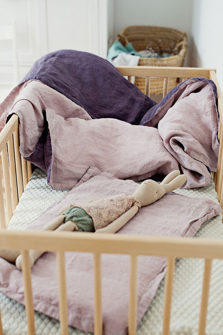 Linen Baby Bedding Set   Lapetitealice on Etsy