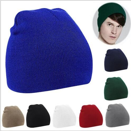 2.44$  Buy here - http://alipg2.shopchina.info/go.php?t=32719642305 - New Warm Knitted Hat Wooly Beanie Hat Winter Warm Wooly Hat Unisex Mens Beanie Ladies Ski Skull Cap Gorras Planas Free Shipping 2.44$ #magazineonline