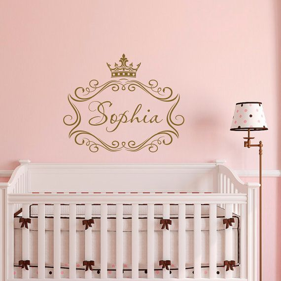 Best Personalized Decals Images On Pinterest Name Wall Decals - Custom vinyl wall decals nursery