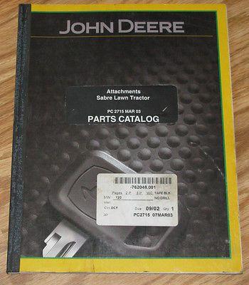 John Deere Scotts Lawn Tractor Attachments Parts Catalog Snow Blade Blrower MCS