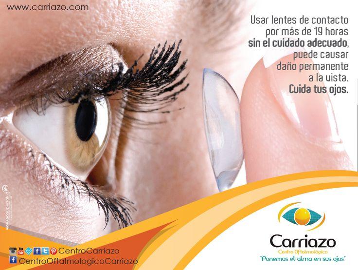 Conoce los mitos sobre los lentes de contacto más comunes y sus verdades en nuestro blog http://ow.ly/oJRIY  Centro Oftalmológico Carriazo twitter: @Carriazo Centro Oftalmológico www.carriazo.com  #TipsCarriazo #optometria #lentesdecontacto #SaludVisual