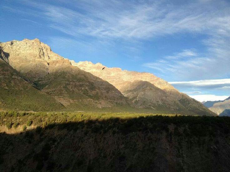 Reserva nacional Rio los Cipreses, Chile.