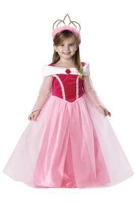 Sleeping Beauty Princess Aurora Girls Toddler Costume on eBay!