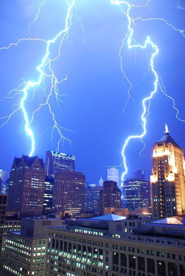 Lightning in Chicago  Bling by ~zgradis on deviantART