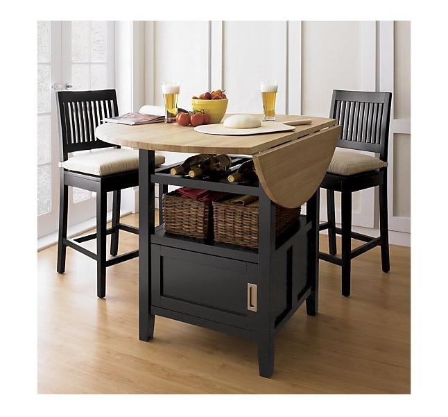 Crate U0026 Barrel  So Fun For A Small Eat In Kitchen · High Dining TableTable  And ChairsDining ...