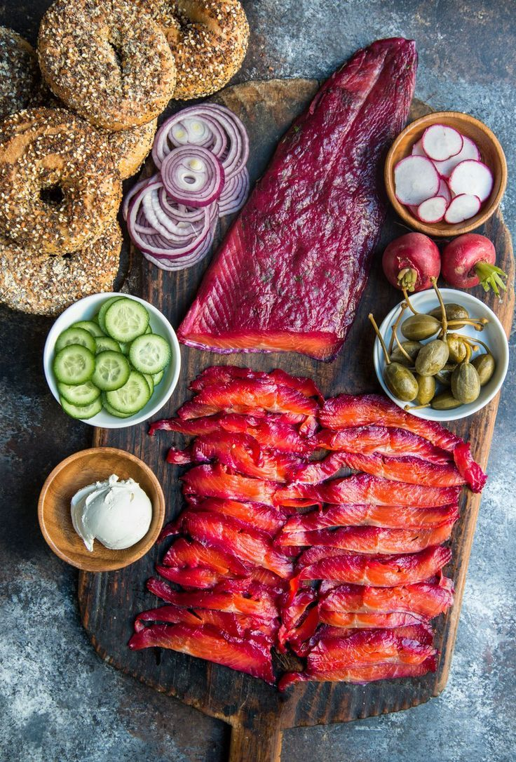 Dill and Beet-Cured Gravlax