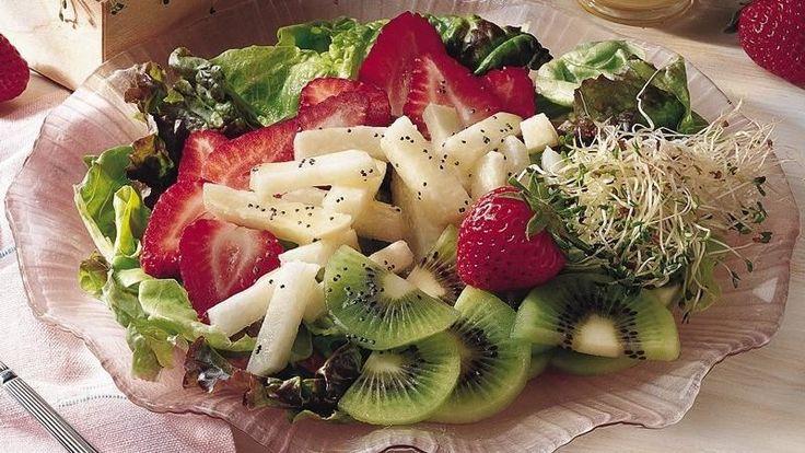 Strawberry-Jicama Toss, try something different