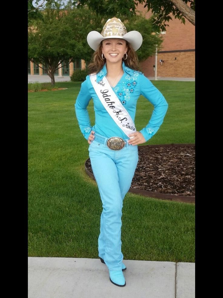 Dressy Casual Casual Cowgirl High School Rodeo Queen