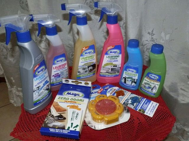 Appunti sul Blog: Mister Magic, grandi soluzioni per pulizie perfett...