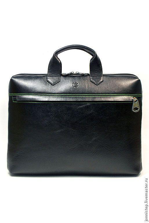 Мужские сумки ручной работы. Ярмарка Мастеров - ручная работа. Купить Мужская повседневная деловая сумка