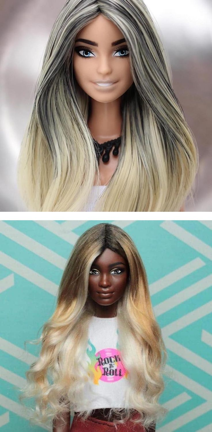 Artist Rafinha Silva transforms figurines into custom Barbie dolls with style.