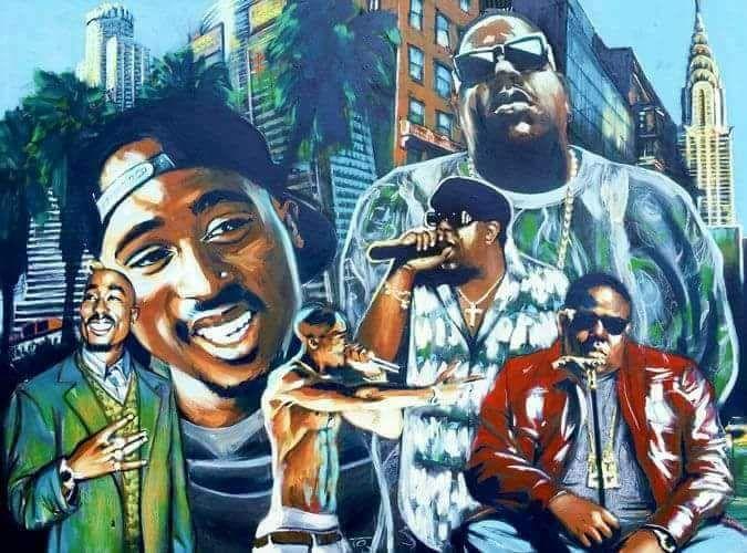 Best 25+ 2pac and biggie ideas on Pinterest   Tupac shakur ... Tupac And Biggie Painting