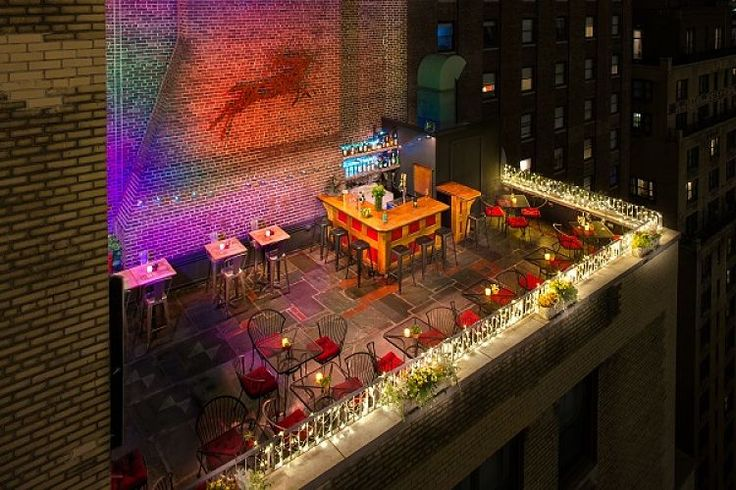 Color & Creativity Shine at Roger Smith Hotel in NYC