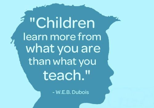 Sociology Quotes | Children learn more from what you are than what you teach.